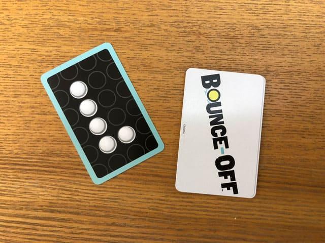 バウンスオフ カード