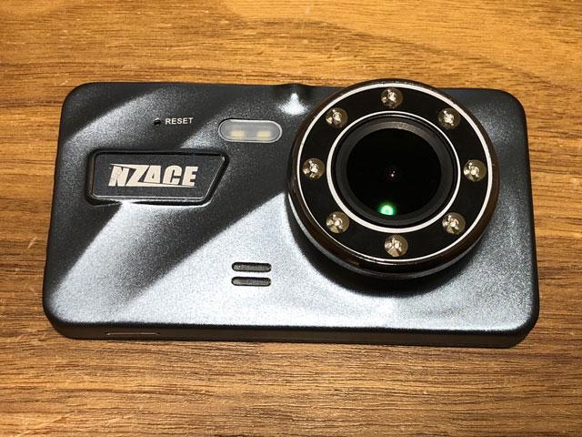 NZACE ドライブレコーダー DR40-T 正面