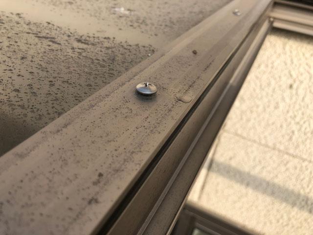 屋根材カバー固定ネジ
