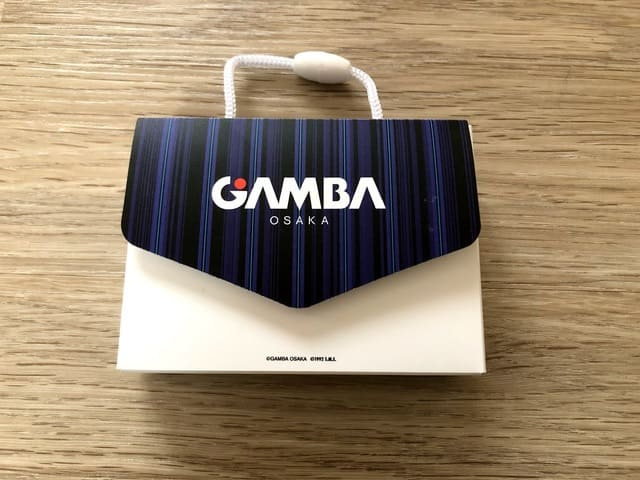 ガンバ大阪 ジュニア会員特典 選手カードホルダー