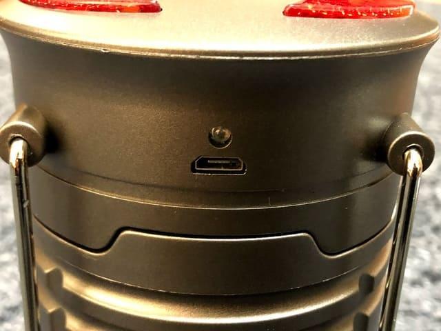 Vantozon LEDランタン USB