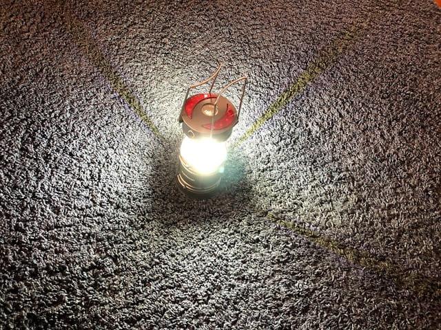 Vantozon LEDランタン テスト