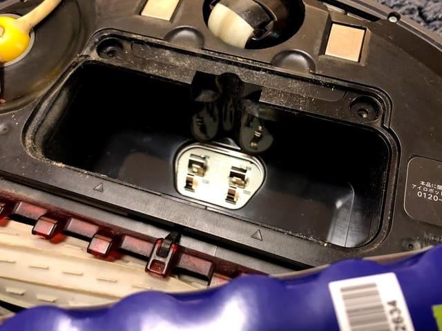 ルンバ バッテリー交換 手順4