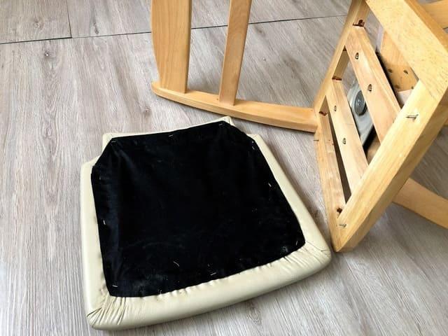 座面と椅子