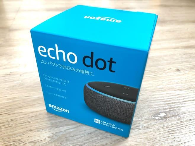 Echo Dot 箱
