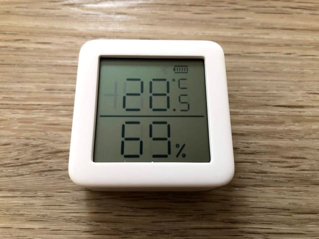 swichbot 温湿度計 表