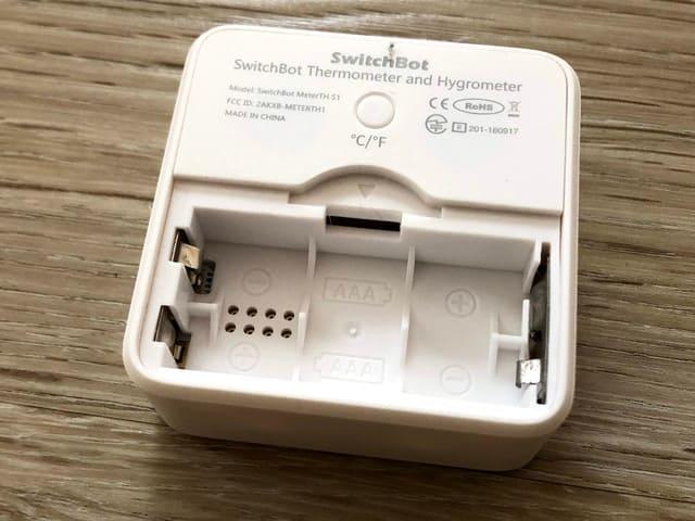 switchbot 温湿度計 電池パック